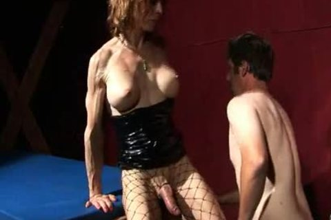 slavemaster ladyboy Controls everything that guy Does