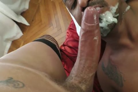 Renata pokes twink And Great cum
