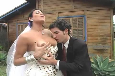 lovely shemale Bride Sexs recent Hubby