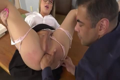 Bratty blond Schoolgirl acquires pounded By Her Professor