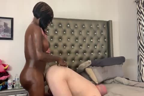 monstrous Chocolate shelady With humongous dick Gives White bare